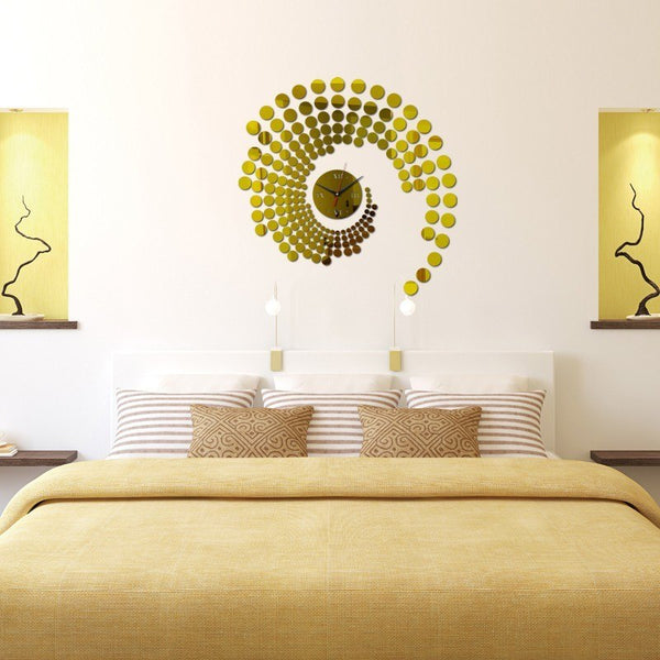 Water Needle Acrylic Wall Clock