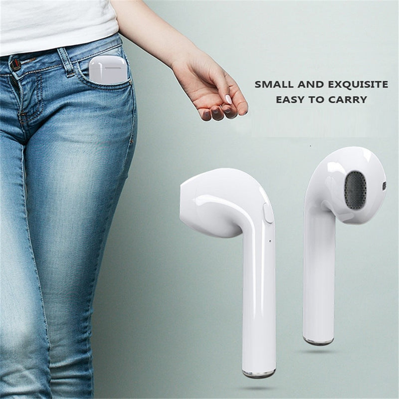 Handy Bluetooth Wireless Earbuds with Mic
