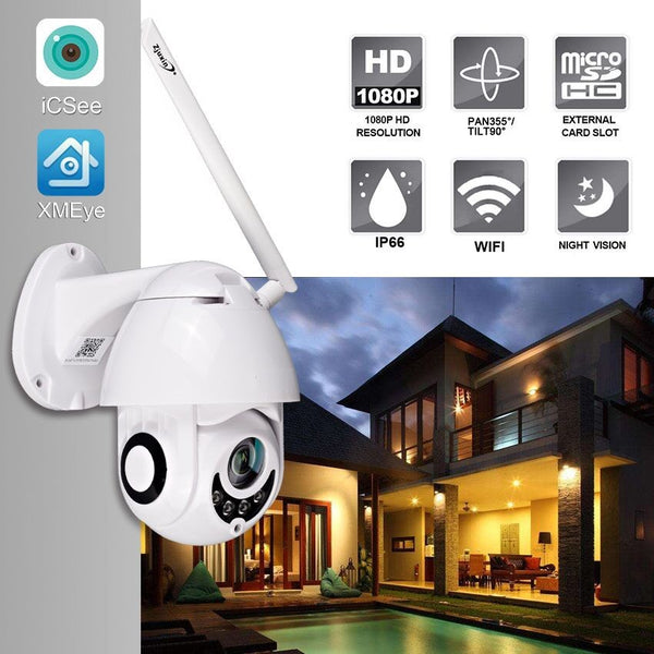 1080P Wireless Outdoor Security Surveillance Camera