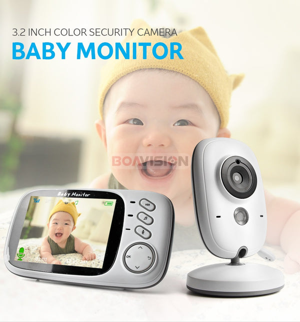 Best-Value 2.4G Wireless 3.2 Inches Night Vision Baby Monitor