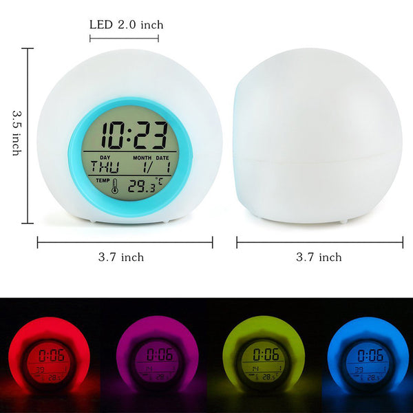 Night Glowing Digital Desk Clock