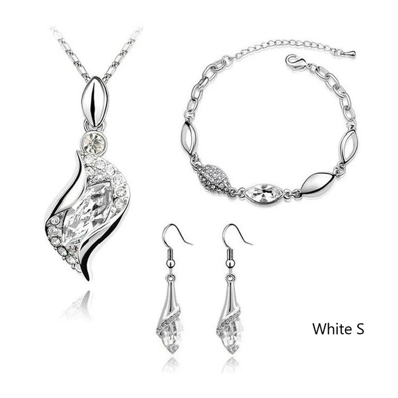 Elegant Austrian Jewelry Set