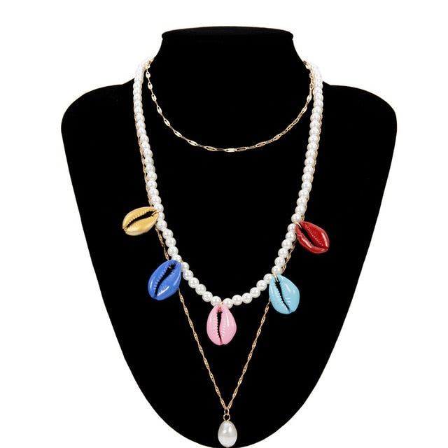 MULTI LAYERED CHOKER NECKLACE FOR WOMEN