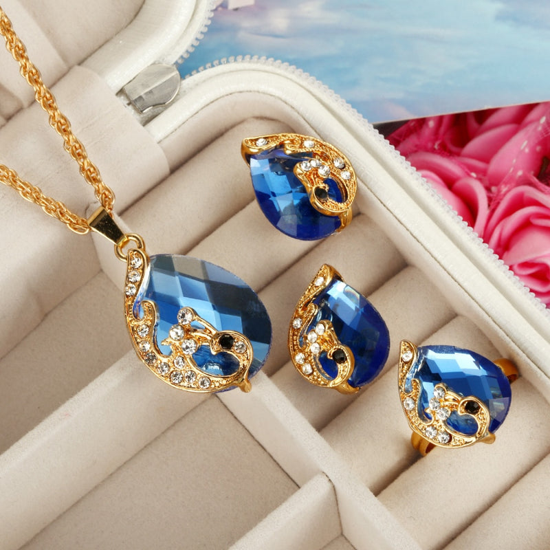 Amazing Multicolored Jewelry Set