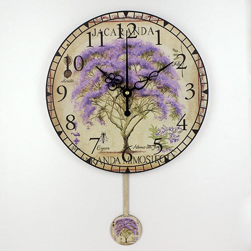 Living Room Decor Wall Clock