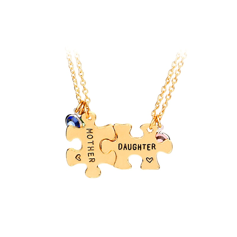 Put It Together Mother-daughter Pendant