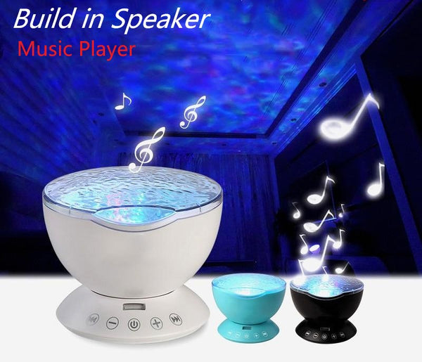 Music Ocean Wave Projector Led Decoration Lamp