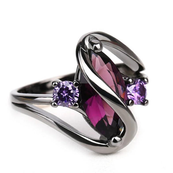 COLORFUL ZIRCONIA RING FOR WOMEN