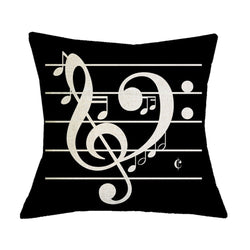Musical Instrument Chair Cushion