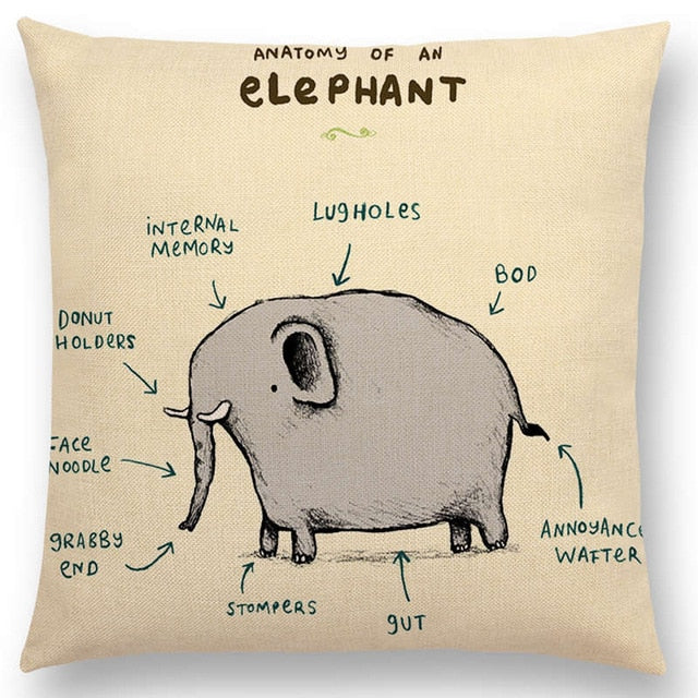 Animals Chair Cushion