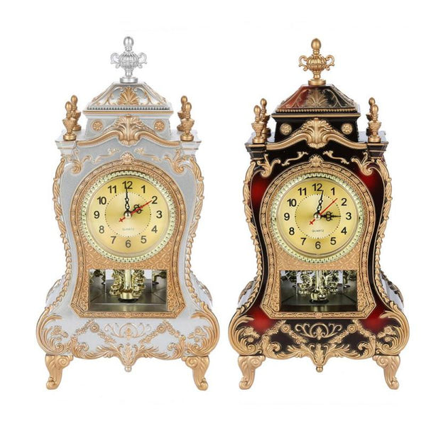 Classical Royalty Desk Clock