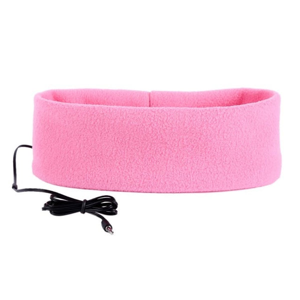 Sleeping Headband and Earphones Combo