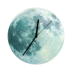 Glowing Moon Wall Clock