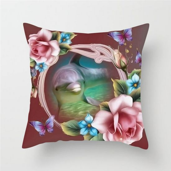 Colorful Flower Air Cushion