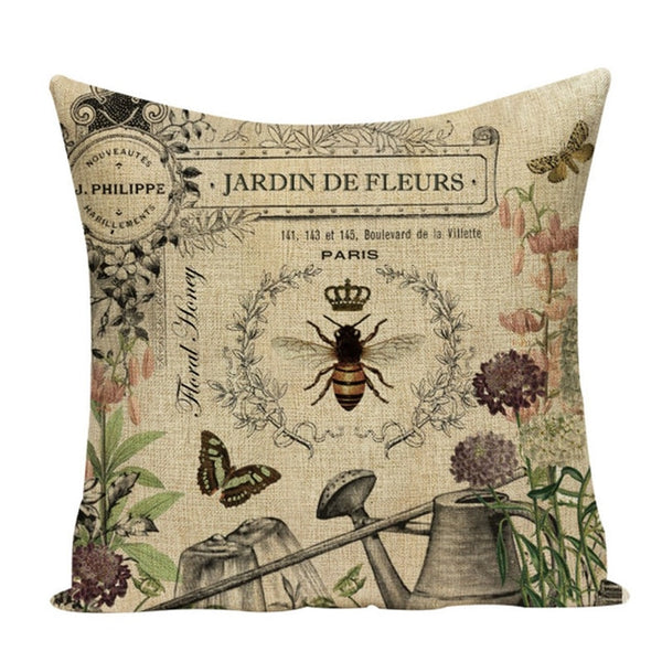 Botanical Chair Cushion