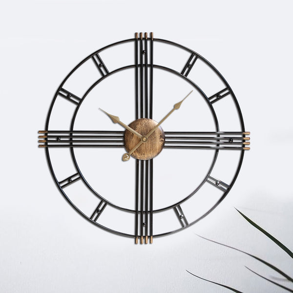 NORDIC IRON WALL CLOCK