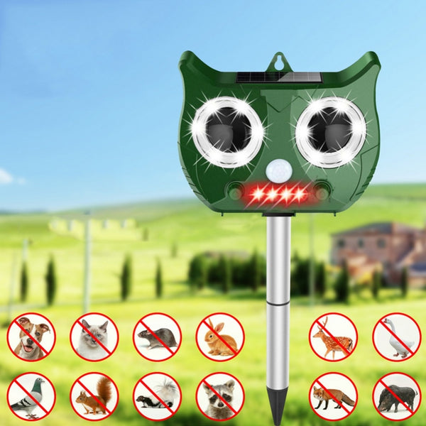 Outdoor Ultrasonic Solar Pest Repeller
