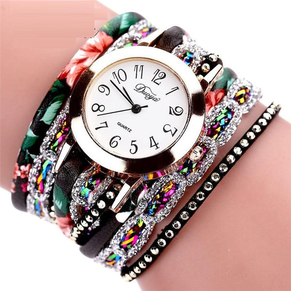 Colorful Quartz Watch Bracelet