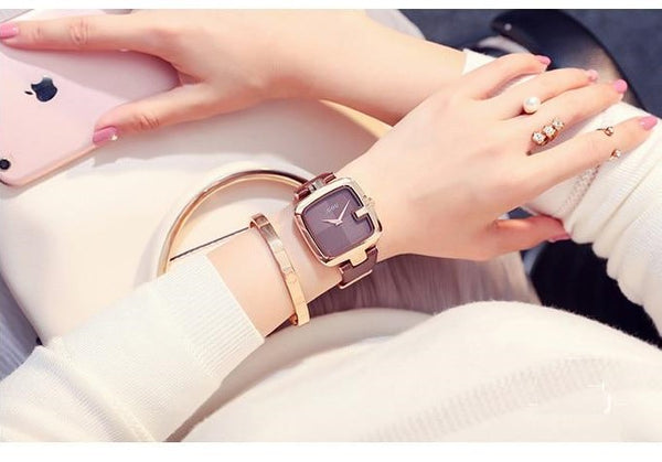 Square Fashion Bracelet Watch