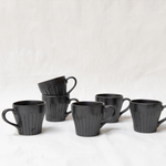 Evi cup - black set of 6