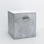 Miro stool - concrete - light grey