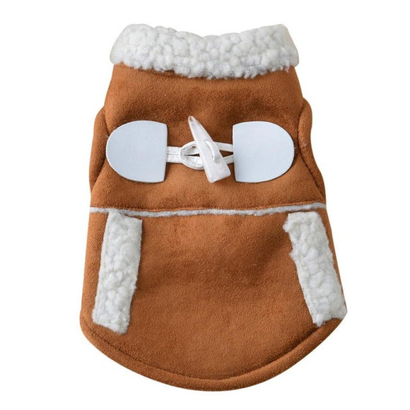 Adorable Sherpa Winter Dog Vest - The Dahlia Collective