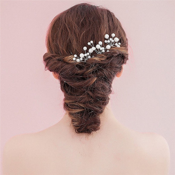 Bridal Pearl Hair Pin Set - The Dahlia Collective