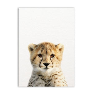 Safari Animals Picture Nursery Wall Decor - The Dahlia Collective