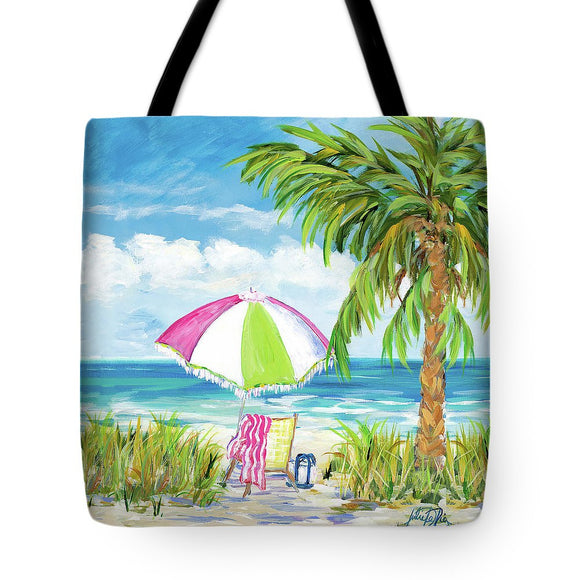 Seaside Vacation Getaway Tote Bag - The Dahlia Collective