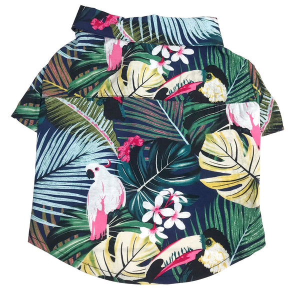 Stylish Hawaii Style Summer Dog Shirt - The Dahlia Collective