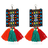 Women's Boho Long Tassel Earrings - The Dahlia Collective