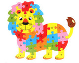Early Education Wood Animal Toy - The Dahlia Collective
