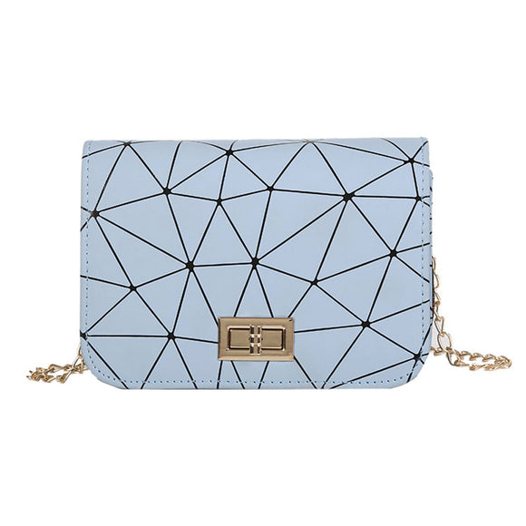 Women's Fashion Leather Geometric Shoulder Bag - The Dahlia Collective