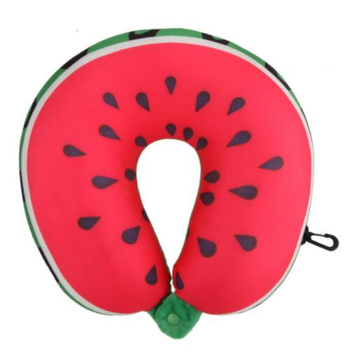 Colourful Fruit Travel Neck Pillow - The Dahlia Collective