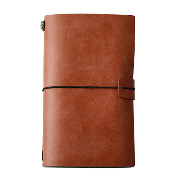 Handmade 80 page Notebook with convenient Stretch Strap Binder - The Dahlia Collective