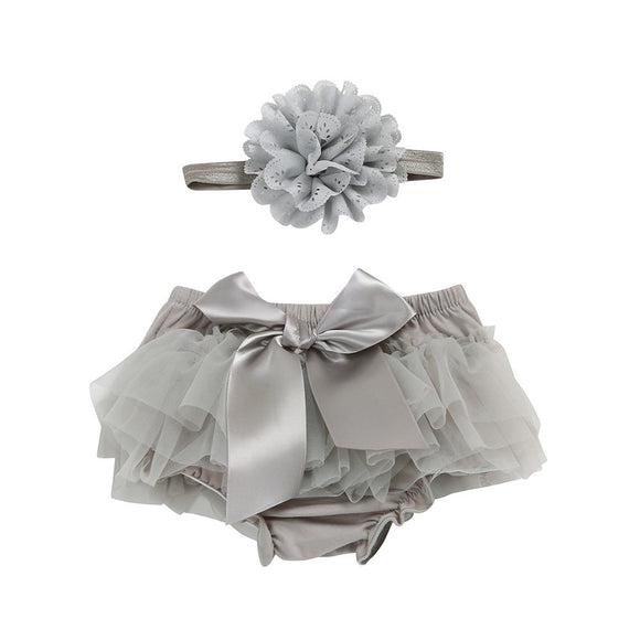 Adorable Baby Girl Headband and Diaper Tutu - The Dahlia Collective