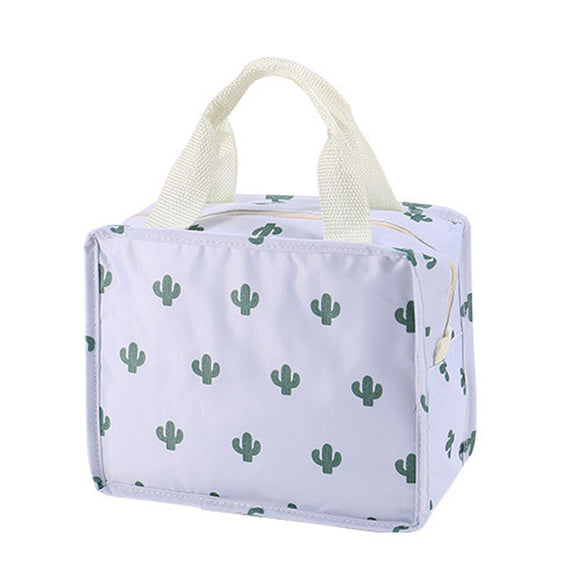 Cactus Print Cosmetic Bag - The Dahlia Collective