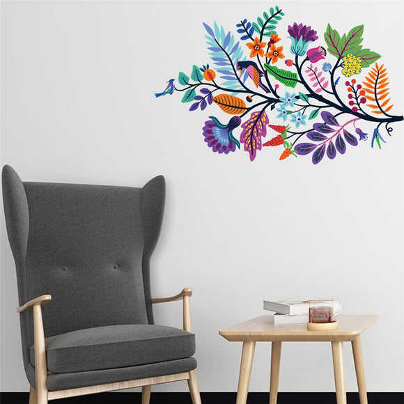 Forest Fantasy Wall Decor Sticker - The Dahlia Collective