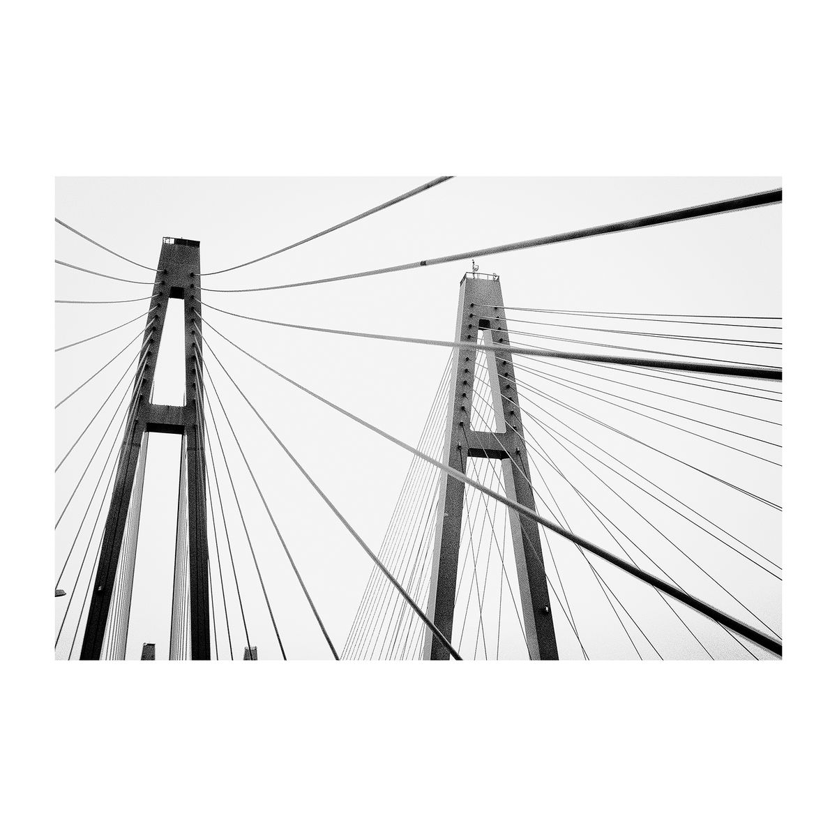 Arrows Bridge, Japan, 2015 - Square Print