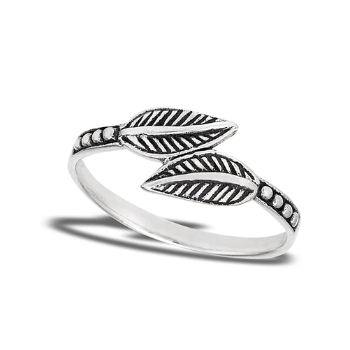 Dueling Leaves Ring