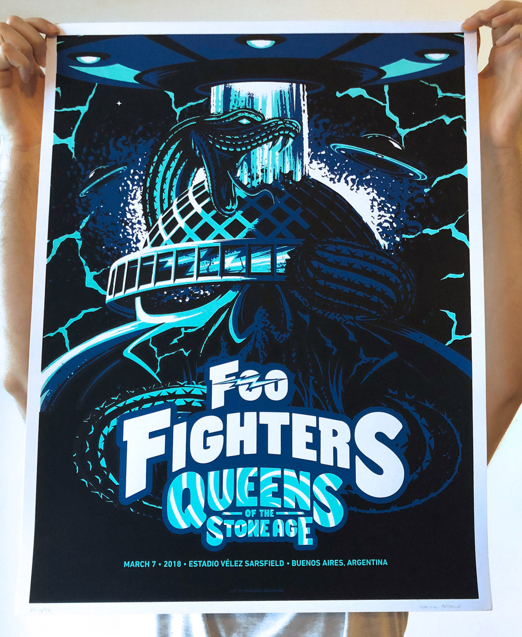 Foo Fighters & Queens of the Stone Age - March 7 th, 2018, Buenos Aires , Argentina