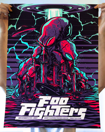 Foo Fighters - November 11 th, 2017 - Sioux Falls, SD