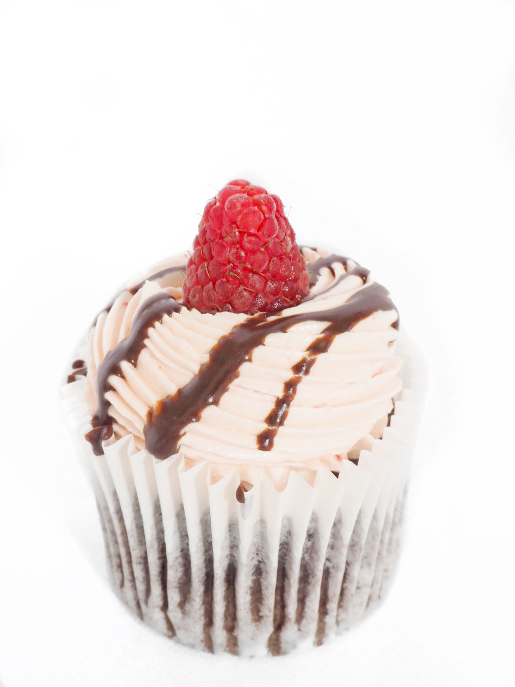 Chocolate Raspberry Cupcake