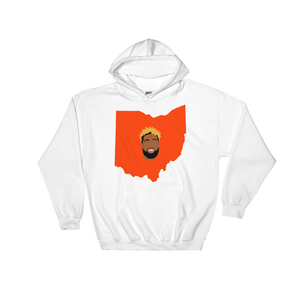 white hoodie welcome to ohio football
