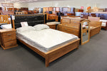 PU Chestnut Queen Bed