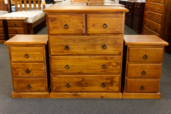 Crescent 3 Piece Chest Drawer Package