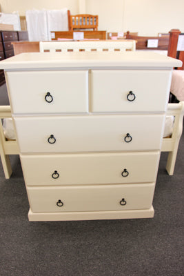 Crescent 5 Drw Tall Chest