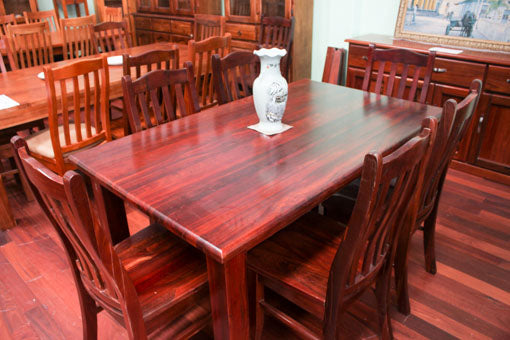 Donnelly Jarrah 1800 7 Piece Dining Suite
