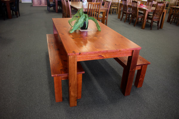 Hopeland Table + Benches