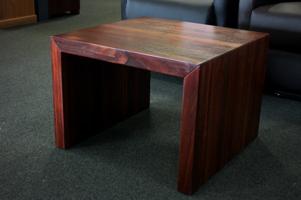 Jarrah Chunky Lamp Table